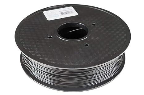 Filamento PLA negro, 1,75 mm, 1 kg en Bobina, para impresora ...