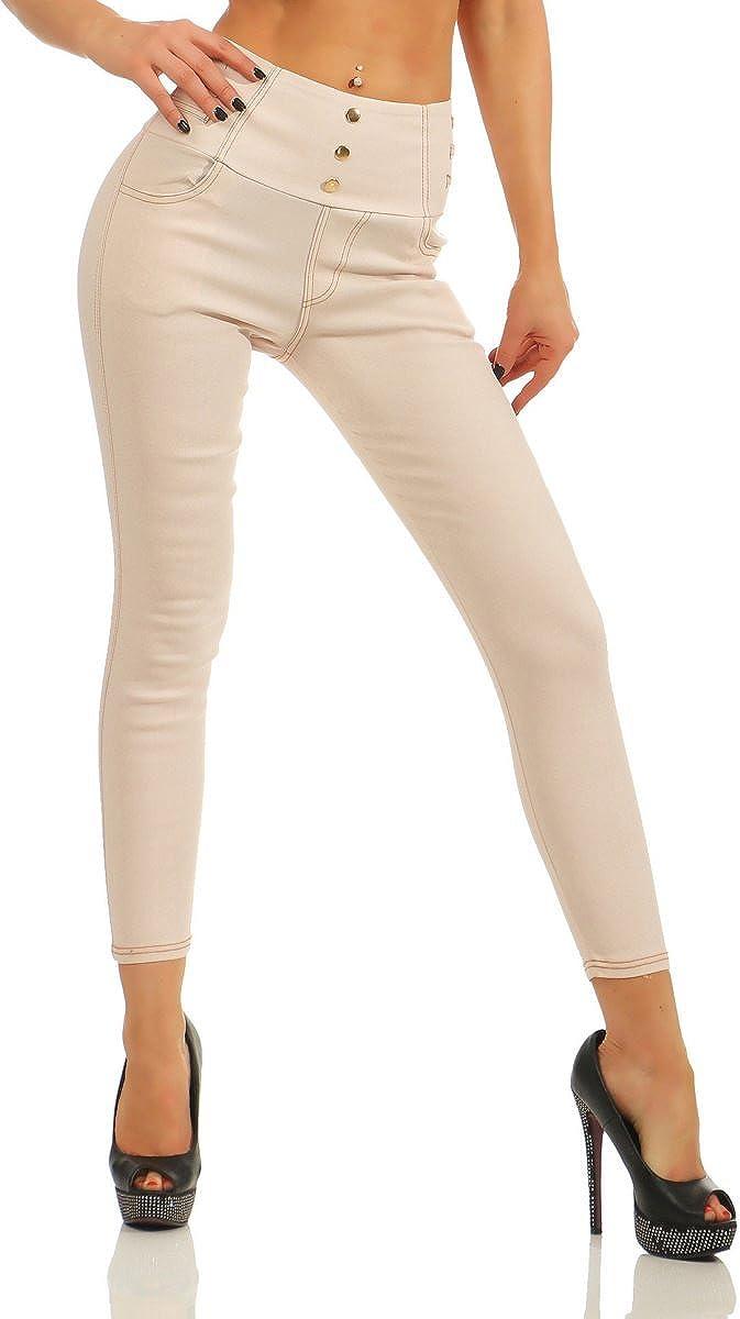 5254 Knackige Damen Jeans Röhre Baggy Hose Boyfriend Style Jogg Pants Cargo