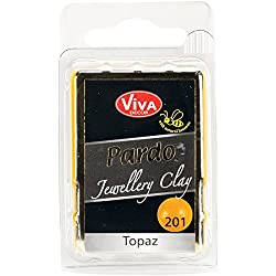 Viva Decor Pardo Jewelry Clay, 56g, Topaz