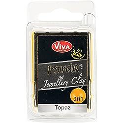 Viva Decor Pardo Jewelry Clay, 56g, Topaz