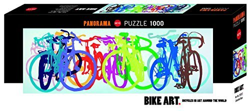 Heye Colourful Row Panorama Puzzles (1000-Piece, Multi-Colour) by Heye
