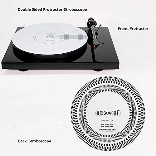 Hudson Hi-Fi Double Sided Stroboscope and Protractor Mat