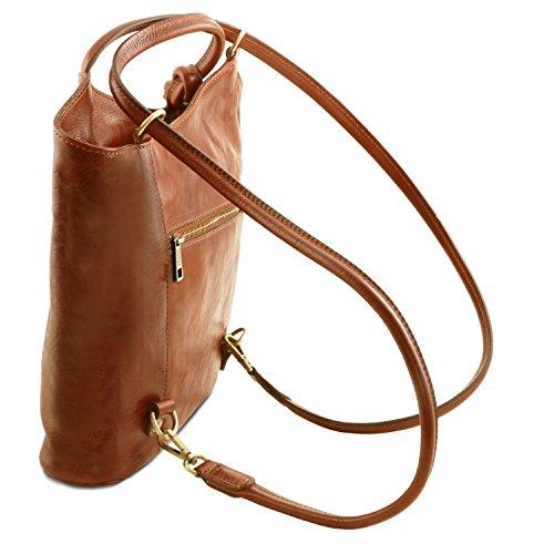 amarillo De Miel Tl141497 Mochila Patty Piel Leather En Bolso Tuscany Convertible Señora qUwvnTTS