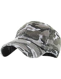 1fd8c8b6fd3 Vintage Washed Distressed Cotton Dad Hat Baseball Cap Adjustable Polo  Trucker Unisex Style Headwear
