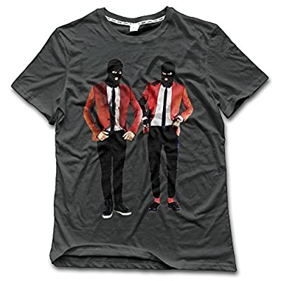 NDZZZ Man Digital Printing Cool Twenty-One-Pilots Cotton T For Sports Large DeepHeather