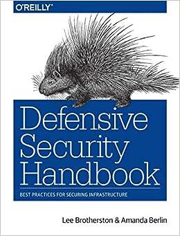 Defensive Security Handbook Best
