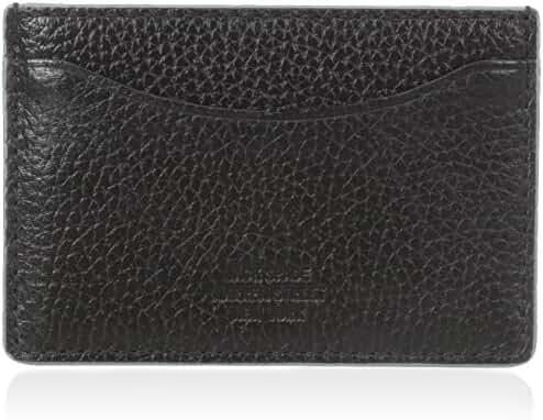 Jack Spade Men's Mason Leather Credit Card Holder