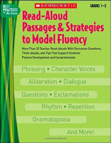 fluency passages grade 1 - 6