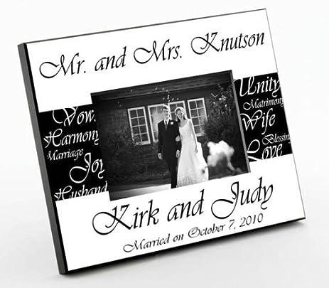 mr mrs wedding frame photo - Mr And Mrs Photo Frame