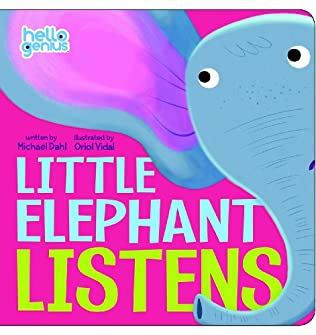 book cover of Little Elephant Listens