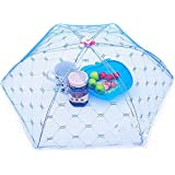Foldable Food Cover Tent Umbrella Foldable Barbecue Cake Covers Lace Mesh Fly Mosquito Net Insect Hot