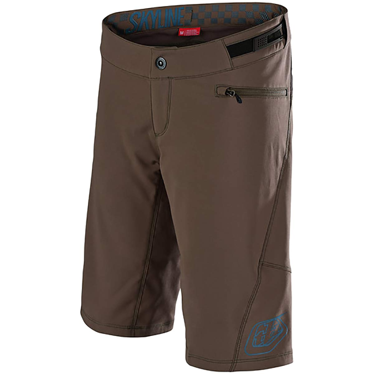 Troy Lee Designs Skyline Short - Women's Solid Moka/Corsair, S by Troy Lee Designs (Image #1)