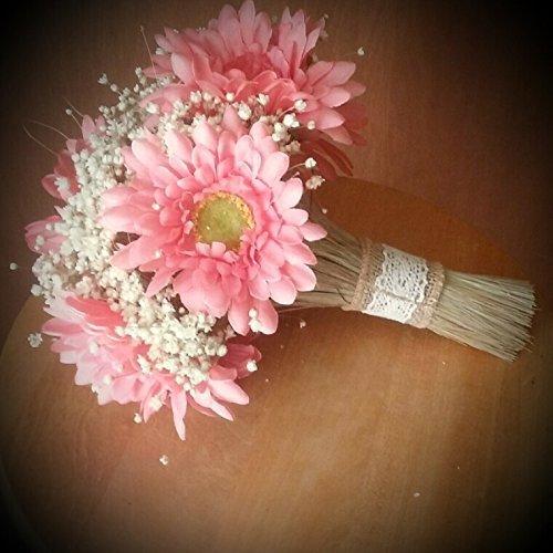 Amazon.com: Gerbera Daisy Wedding Bouquet: Handmade