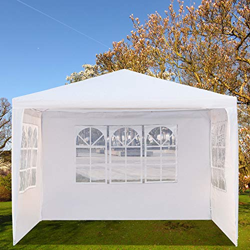 JinsChen Outdoor Waterproof Canopy Tent BBQ Tent for Wedding Party Camping with Spiral Tubes ()