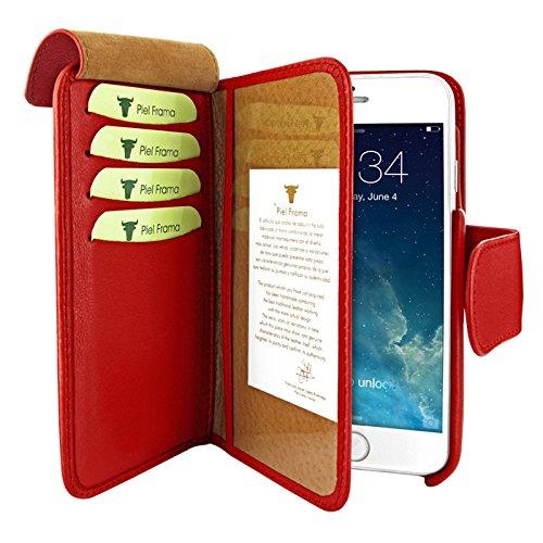 PIELFRAMA 687R Wallet Case Apple iPhone 6 Plus in rot