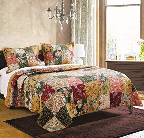 Greenland Home Antique Chic King Quilt Set (Renewed) ()