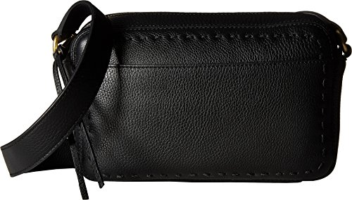 Cole Haan Womens Ivy Pic Stitch Camera Bag Black One Size by Cole Haan