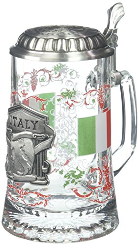 M. CORNELL IMPORTERS 5966 Glass Italy Stein by M. CORNELL IMPORTERS