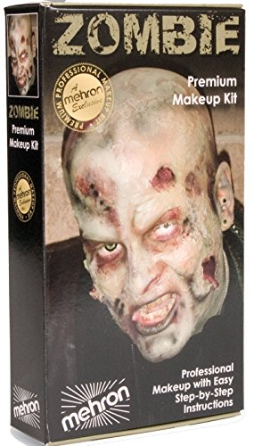 - Mehron Zombie Make Up Kit KMP (Complete Kit)