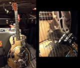 NATIONAL RESONATOR GUITAR PICKUP with FLEXIBLE MICRO-GOOSE NECK by Myers Pickups ~ See it in ACTION! Copy and paste: myerspickups.com