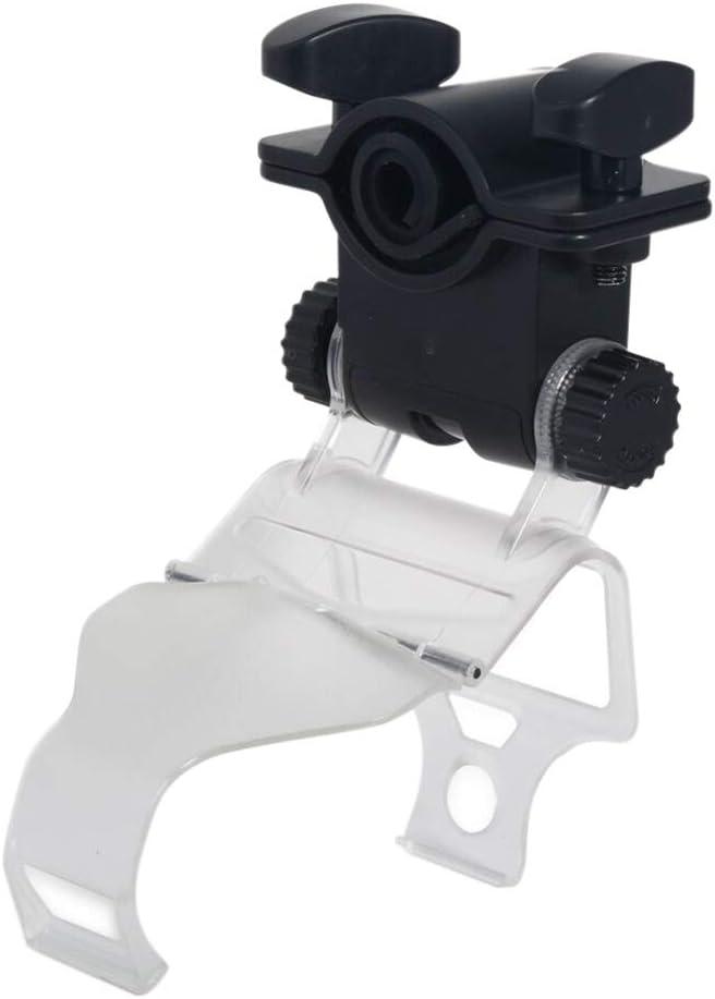 Soporte de Manguera de cachimba 180 Grados Ajustable Breezie Shisha Soporte de Juego Accesorios para Controlador PS4 6.1x5.5x13.5 CM