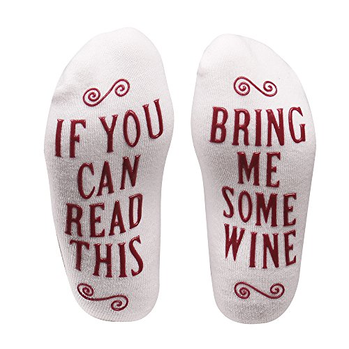 Wine Socks with Funny Words