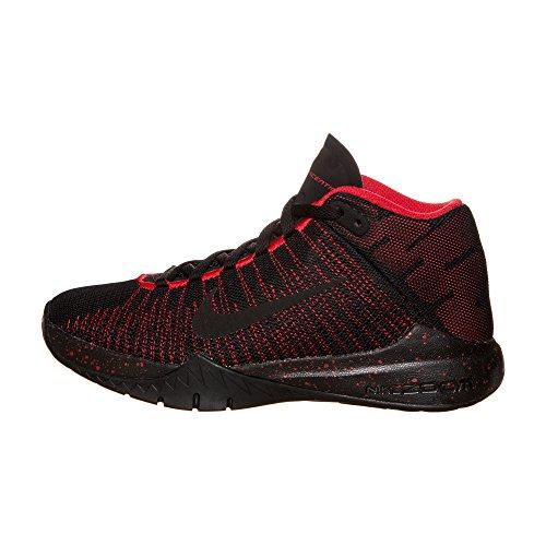 Nike 834319-003, Zapatillas de Baloncesto para Niños Negro (Black / Black University Red)