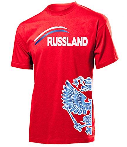 FUSSBALL - RUSSLAND FANSHIRT 3205(H-R) Gr. L