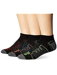 New Balance Men's 3 Pack Performance Low Cut Socks