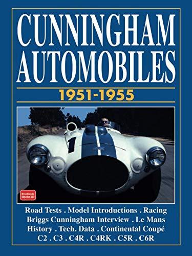 - Cunningham Automobiles 1951-1955 (BROOKLANDS BOOKS)