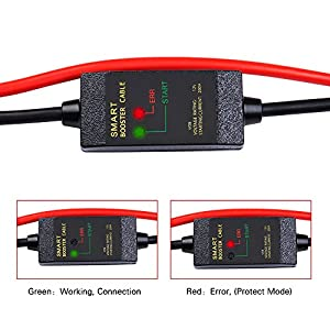 Booster Jumper Cables Automotive Replacement Car Jumper Cables Alligator Clamp JUMP STARTER CABLE CLAMP Booster Battery Clips for Car Jump Starter 12V (Smart)