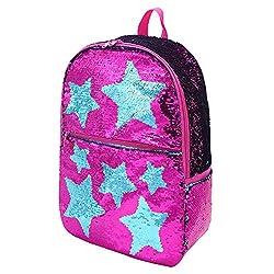 Sequin School Backpack for Girls