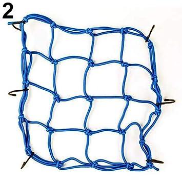 Moto 6/crochets Cargo support casque Sandow Emballage Sac en maille filet Corde Lyhhai
