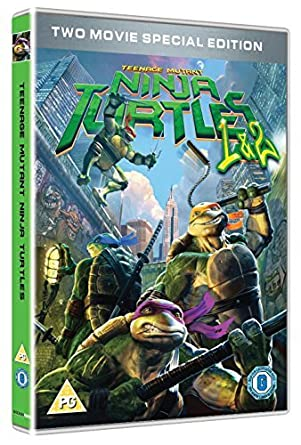 Teenage Mutant Ninja Turtles - 2 Movie Collection DVD ...
