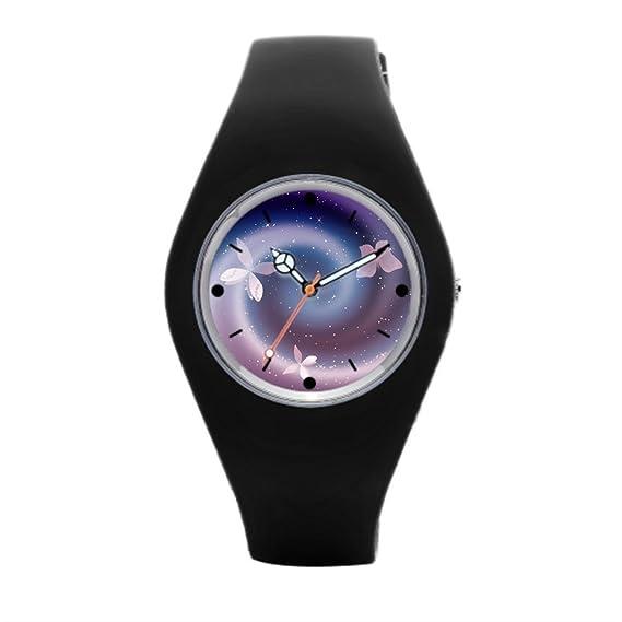 timetoshine reloj de pulsera deportivo para hombres plata mágico mejores deportes relojes: Amazon.es: Relojes