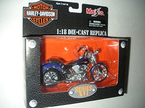 Maisto Harley-Davidson Motorcycle 1999 FXSTS Springer Softail Die Cast