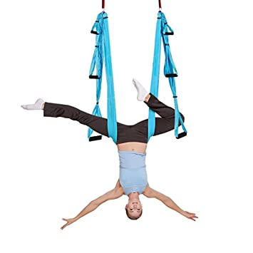 Cuifang Air Yoga Swing - Súper Antigravedad Yoga Hamaca ...