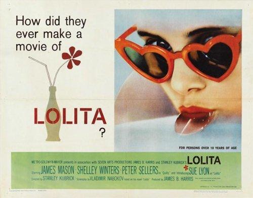 Lolita Movie Poster (Lolita POSTER Movie (22 x 28 Inches - 56cm x 72cm) (1962) (Half Sheet Style A))