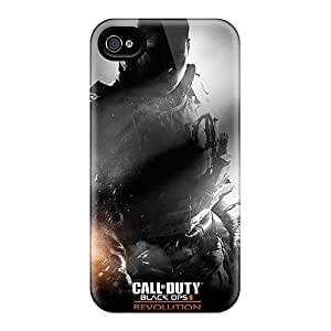 Iphone Cover Case - Call Of Duty Black Ops Ii Revolution Protective Case Compatibel With Iphone 4/4s