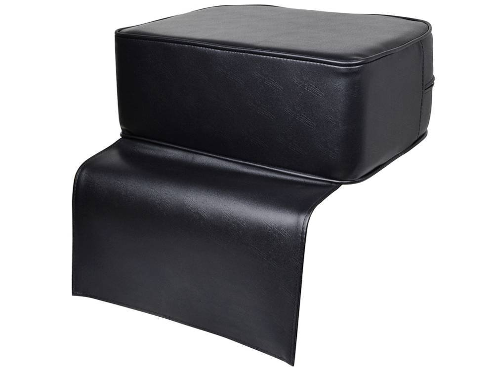 TMS Black Barber Cushion Beauty Salon Spa Equipment Styling Chair Child Booster Seat: Beauty