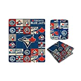 MLB Toronto Blue Jays Super-Soft High End Super Cozy Blanket / Throw