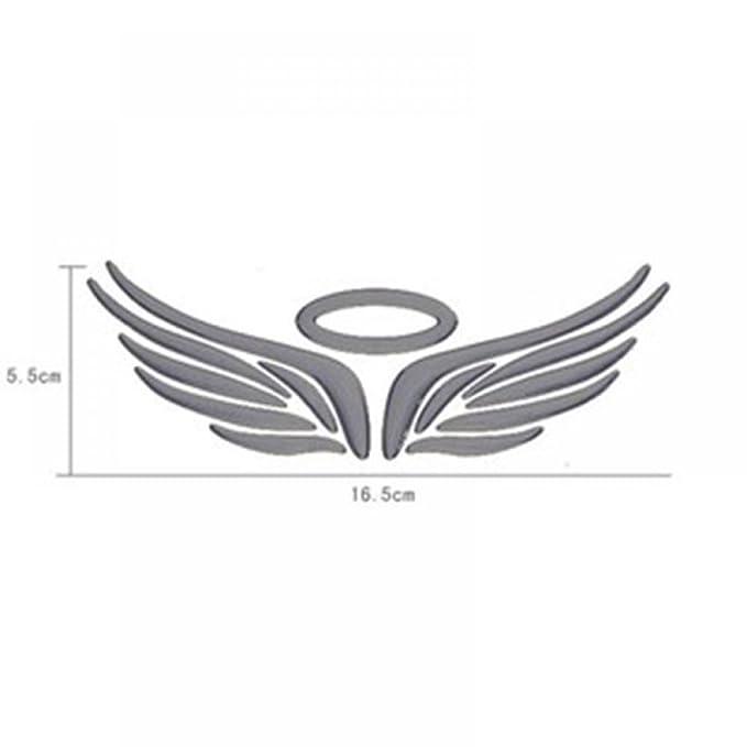 Amazon Maxgoods 3d Angel Wings Car Auto Truck Logo Emblem Badge