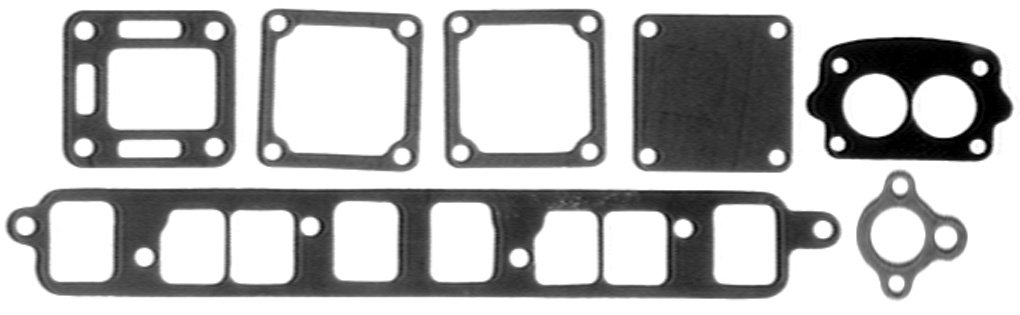 Sierra International Exhaust Manifold Gasket Set 18-4398 Exhaust Manifold Gasket Set Teleflex SR18.4398