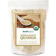 Healthworks Quinoa White Whole Grain Raw Organic, 5lb