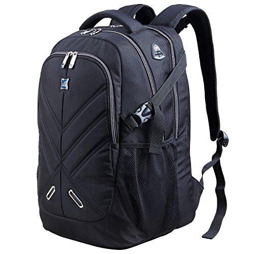 Lifewit Laptop Rucksack Daypack Wasserdicht Laptoptasche Notebooktasche Reiserucksack Multifunktionsrucksack Passend für bis zu 17,3 Zoll für Schule