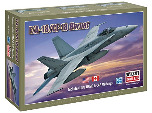 Minicraft Models F/A-18/CF-18 Hornet USN,USMC & CAF for sale  Delivered anywhere in USA