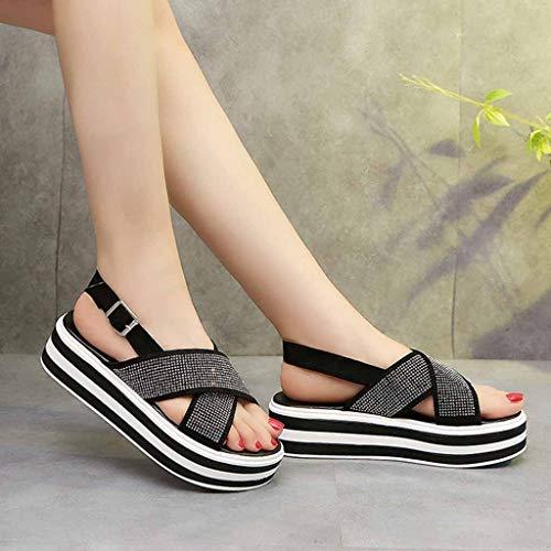 sandali Argento Scarpe Di Pelle Donna Da sandali Donna Sandali Sportivi sandali Qualità Sandalo Donna Infradito Estivi Donna infradito 7qBfT