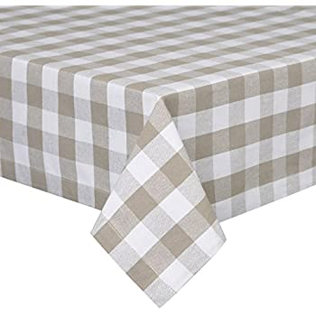 Ordinaire VEEYOO 60 X 120 Inch (152 X 305 Cm) Rectangular 100% Cotton Plaid