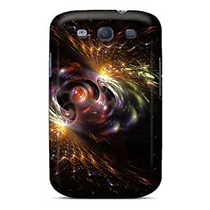 Durable Protector Cases Covers With 3d Abstract Hot Design For Galaxy S3