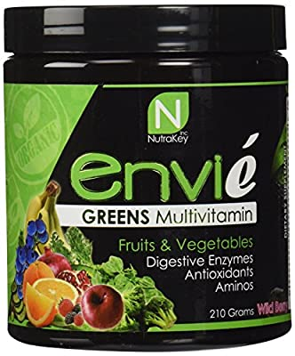 NutraKey Envie Wildberry, 210 Gram